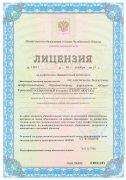 Лицензия на осуществление образовательной деятельности (страница 1)