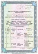 Приложение №1.3 к лицензии (страница 1)