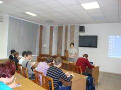 Ученики Полетаевской СОШ на ПЦК ИТ