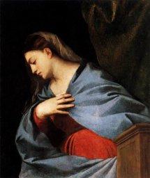 Благовещение Мадонны (Тициан, 1520)